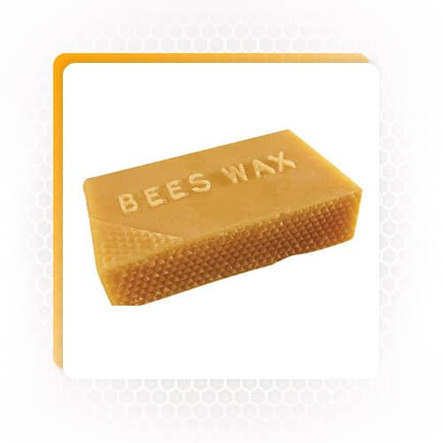 Bee by products bee wax